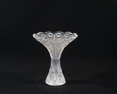 Váza křišťálová broušená 80080/57001/155  15,5cm. Tom Crystal Bohemia