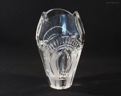 Váza křišťálová broušená 80744/22011/230  23cm. Tom Crystal Bohemia