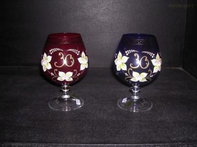 Výroční sklenice 30 400 ml. 1ks Crystalex