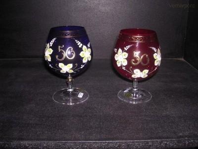 Výroční sklenice 50 400 ml. 1ks Crystalex