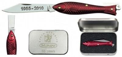 Zavírací nůž Rybička - limitovaná série 130-NAl-1/55 Mikov