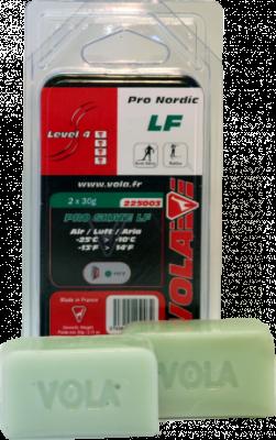 Závodní běžecký fluorový vosk PRO SKATE LF 225003 -25 °C / -10 °C 2x30g.